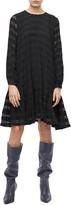 Anine Bing Viola Long Sleeve Swing Dress