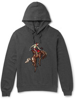 Dolce & Gabbana - Embroidered Loopback Cotton-jersey Hoodie
