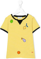 Rykiel Enfant - printed stripe T-shirt - kids - Cotton - 2 yrs
