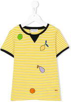 Rykiel Enfant printed stripe T-shirt