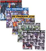 Star Wars Men's Freegun Boxer Shorts,L pack of 5