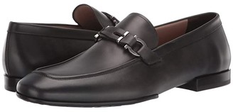 Salvatore Ferragamo Tucker Loafer (Lead Grey) Men's Shoes