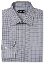 Tom Ford Woven Embroidered Dress Shirt