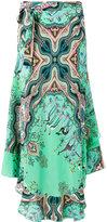 Etro nature print skirt - women - Silk - 44