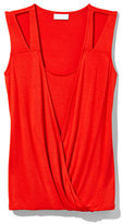 New York & Co. Outlet Exclusive - Faux-Wrap Sleeveless Top