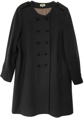 Gerard Darel Anthracite Wool Coats