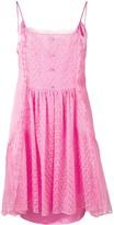 Stella McCartney lace panel slip dress