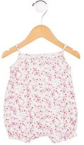 Petit Bateau Girls' Floral Print All-In-One