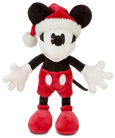 Disney Classic Mickey Mouse Plush - Santa - 7''