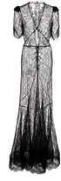 Brock Collection Dorrie Daisy Chantilly Lace Dress