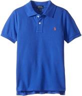Polo Ralph Lauren Cotton Mesh Polo Shirt Boy's Short Sleeve Pullover