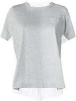 Sacai double-sided T-shirt