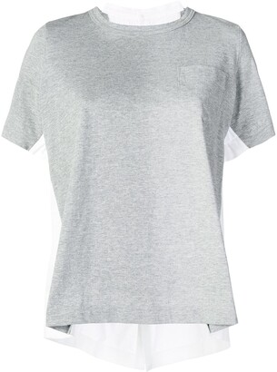 Sacai double-sided T-shirt