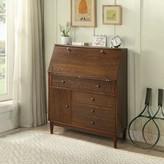 Heinemann 3 Drawer Wooden Storage Cabinet George Oliver