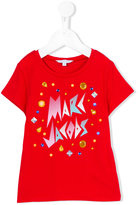 Little Marc Jacobs bejewelled T-shirt - kids - Cotton/Modal - 4 yrs