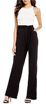 Eva Franco Color Blocked Jumpsuit