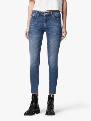 AllSaints Miller Mid-Rise Skinny Jeans