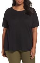 Eileen Fisher Plus Size Women's Silk Blend Tunic Sweater