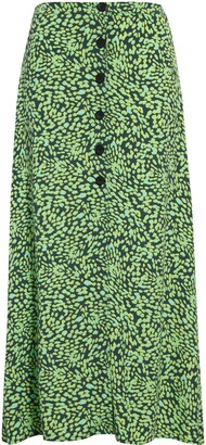 Leith Button Front Skirt