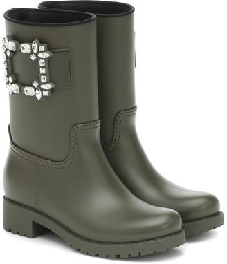 Roger Vivier Tempete Viv Strass rubber boots