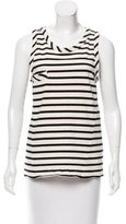 Belstaff Sleeveless Striped Top