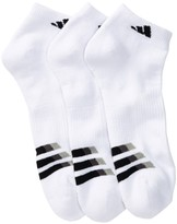 adidas Cushioned Low Cut Socks - Pack of 3