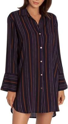 Midnight Bakery Corine Stripe Sleep Shirt