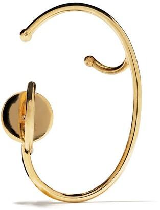 Ana Khouri 18kt yellow gold Lily single left earring