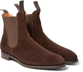 Edward Green - Newmarket Suede Chelsea Boots