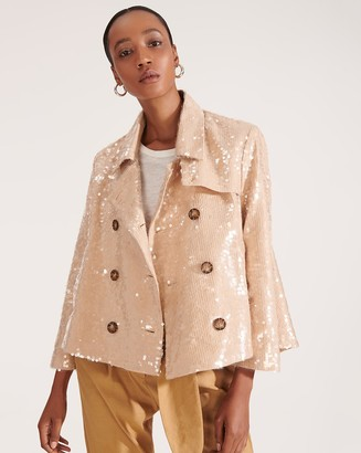 Veronica Beard Darya Sequin Jacket