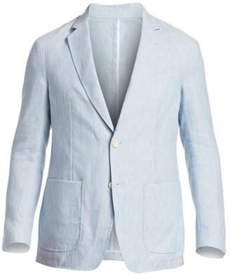 Saks Fifth Avenue Linen Sportcoat