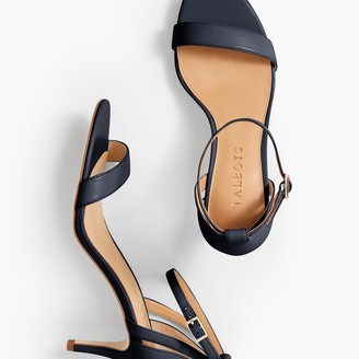Talbots Rosalie Ankle-Strap Sandals - Nappa Leather