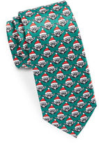 Star Wars Yoda Santa Printed Tie