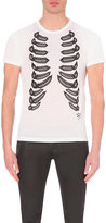 Alexander Mcqueen Ribcage Print T-shirt