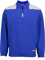 Vineyard Vines Men's Pullover Sweaters 3693 - Royal Ocean Color Block Shep Half-Zip Pullover - Men