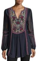 Tolani Brandy Boho Easy Tunic