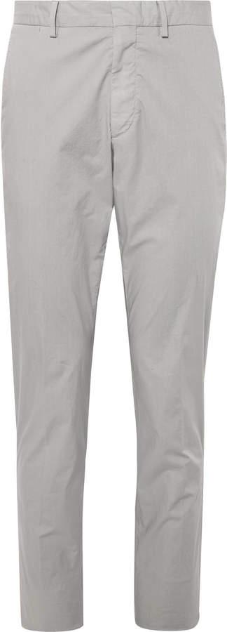 f7ca940b55 Garment-Dyed Stretch-Cotton Gabardine Drawstring Trousers