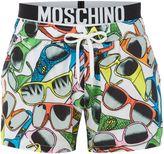 Moschino Sunglasses Print Swim Short