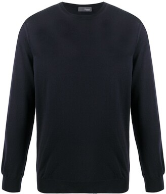 Drumohr Crew-Neck Lightweight Sweater