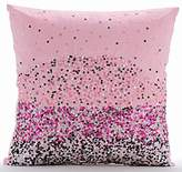 """The HomeCentric Handmade Pillow Covers 16x16, Sequins Ombre Club & Lounge Theme Pillows Cover, 16""""x16"""" Pillows Cover, Square Silk Pillows Cover, Solid Modern Throw Pillows Cover - Starburst"""