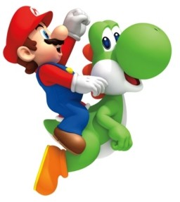 York Wall Coverings York Wallcoverings Nintendo- Yoshi/Mario Peel and Stick Giant Wall Decals