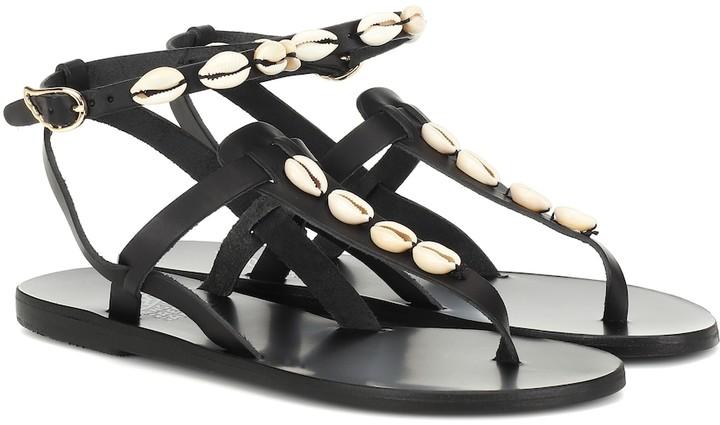 Leather Sandals Mytheresa Exclusive Estia Embellished To toshQCxrdB