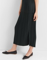 Club Monaco Micro-Pleated Skirt
