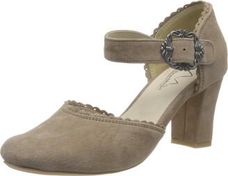 Hirschkogel Women's 3005715 Closed Toe Heels
