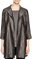 Eileen Fisher Petites Metallic Stripe Jacket