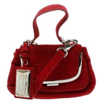 Dolce & Gabbana \N Red Suede Handbags