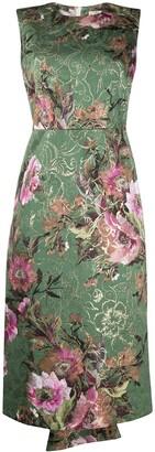 Comme des Garcons Floral Print Dress