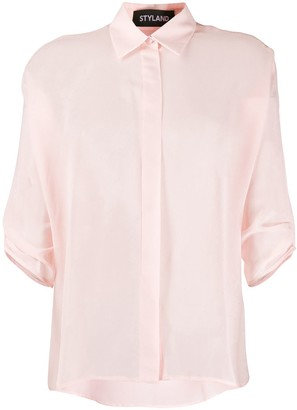 Styland Rolled Sleeve Shirt