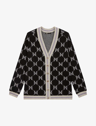 Maje March wool-blend cardigan