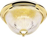"Westinghouse 66464 Flush Mount Ceiling Fixture0.5""x 6.25"" Polished Brass"